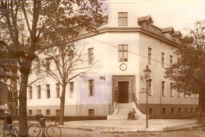 Zepernick-Röntgental Rathaus nach 1935