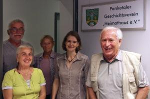 Walter Seger, Barbara Meeden, Kristine Neumann, Nadine Muth, Manfred Timreck